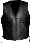 Alive Leather Vest Custom